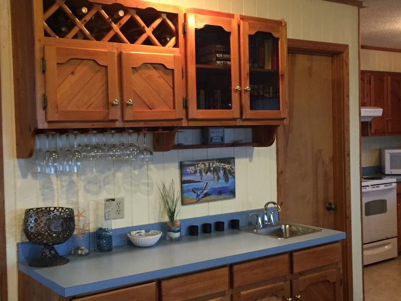 wet bar...adults only!