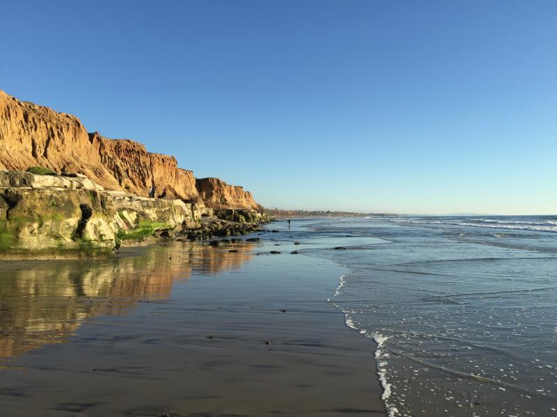 Terramar à marée haute (juste en face de la plage)
