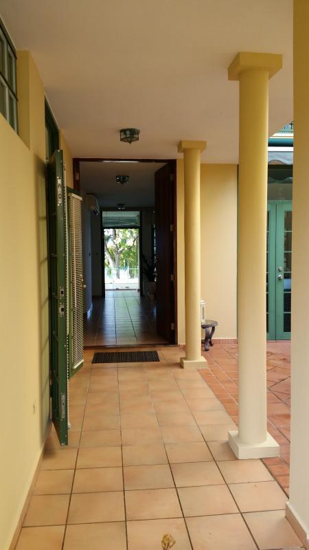 From front door to beach terrace