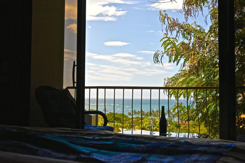 wake up t this view in your private master suite