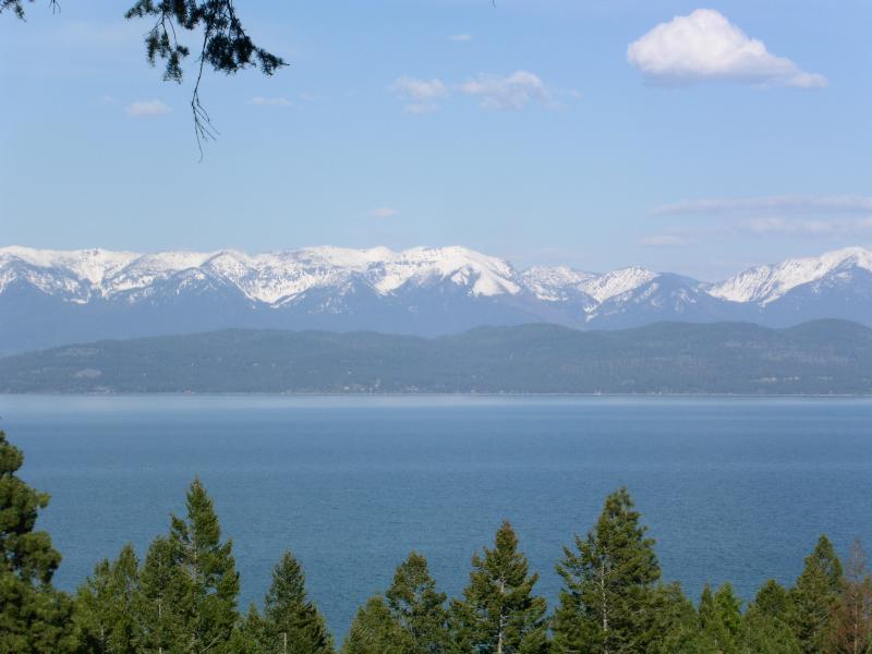 Mountain Lake Vista Flathead Lake View