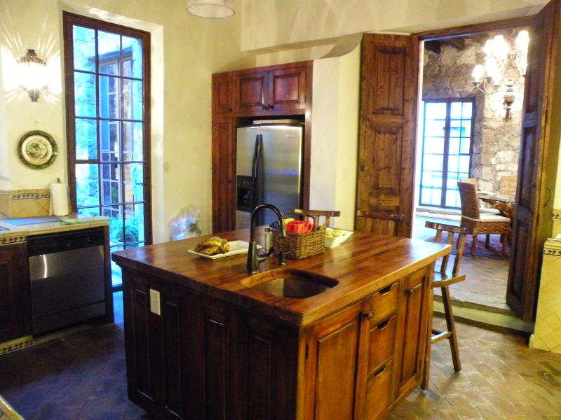 Well-equiped kitchen w/modern conveniences and filtered water system throughout.