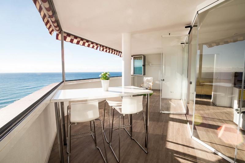 Terraço 220 graus vista panorâmica da ou / terraço 220 graus vista panorâmica oceano