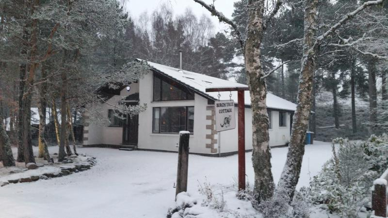 Large, comfortable detached cottage in peaceful woodland setting. Ideal for a relaxing family break.