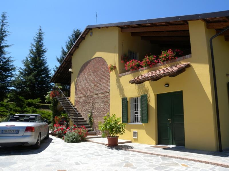 parking inside the property