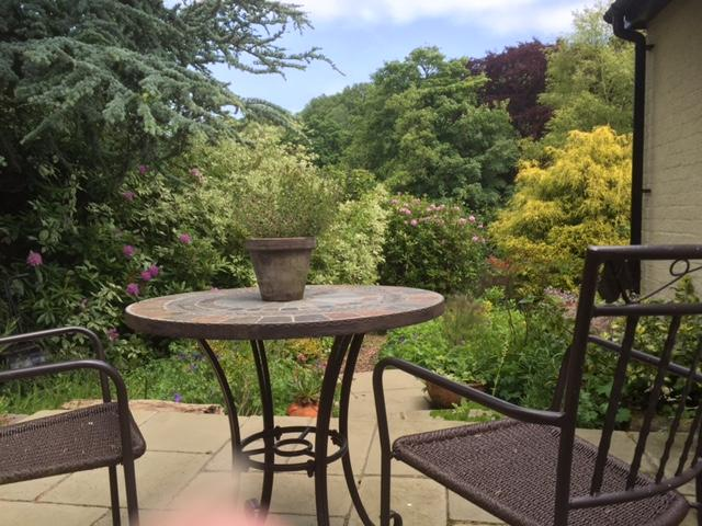 Your own private , enclosed cottage garden, put your feet up and enjoy the view
