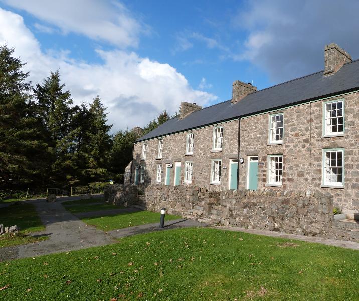 Cottage vista mare per 6-8 persone in splendido villaggio di Nant Gwrtheyrn