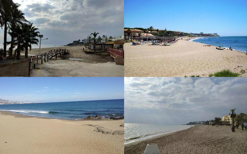 The beach, Playa el Bombo, is just a 10 minute walk away!