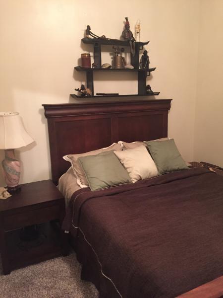 2 queen bedrooms