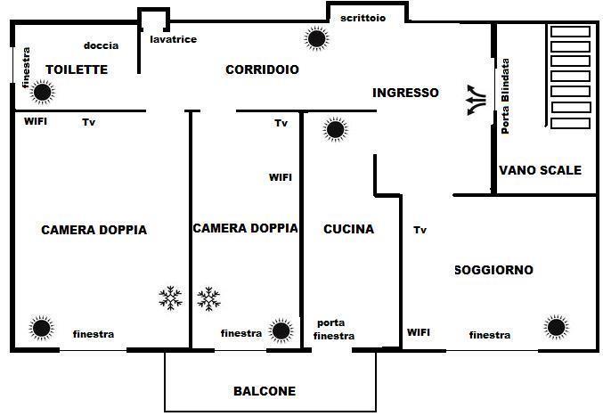 Appartamento Ferrara, holiday rental in Crespino