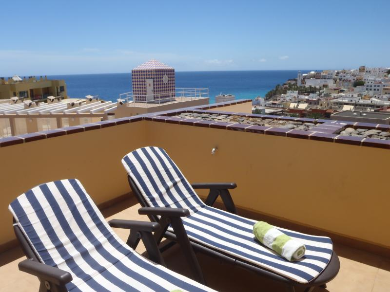 Sunny terrace all day