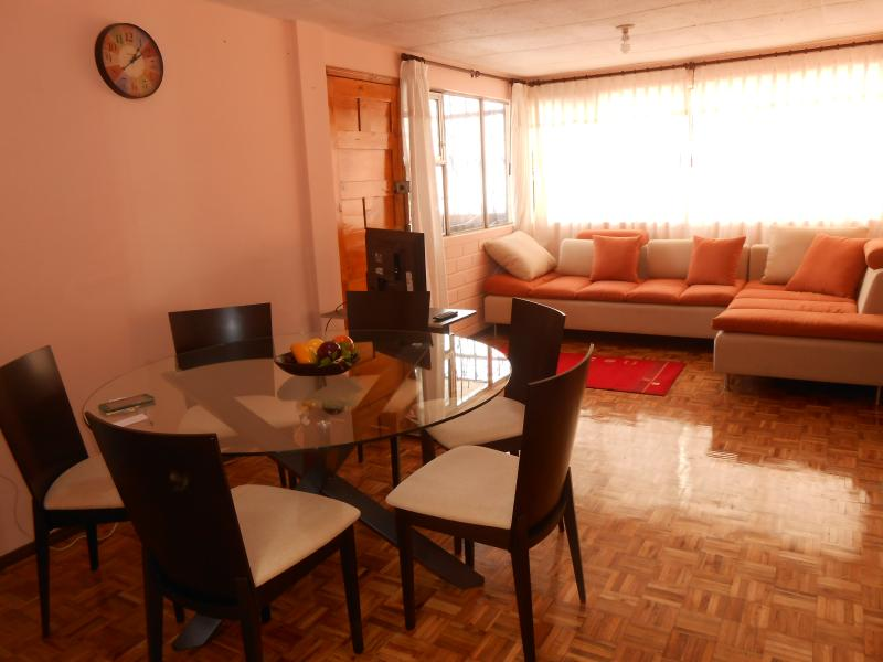 dinign and living room