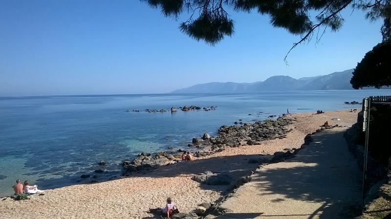 Palmasera seafront and promenade of Cala Gonone