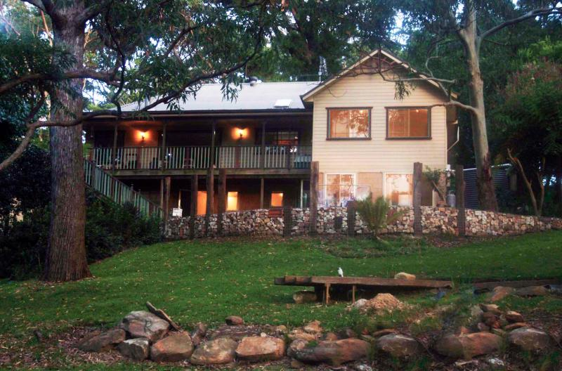 Our house is set on a beautiful bush surrounded 11/2 acres. we have 3 rooms available.