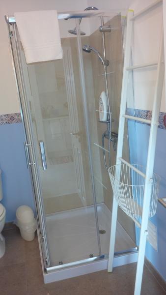 Cuarto de baño - detalle ducha.