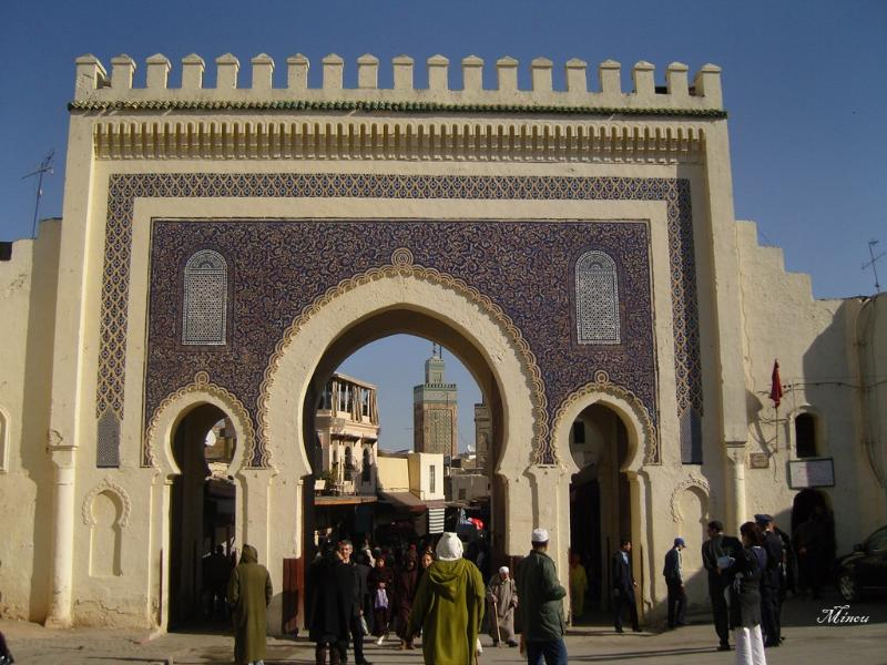 Bab Boujloud, la porte bleue