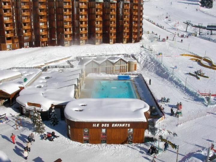 Swimming Pool in the winter