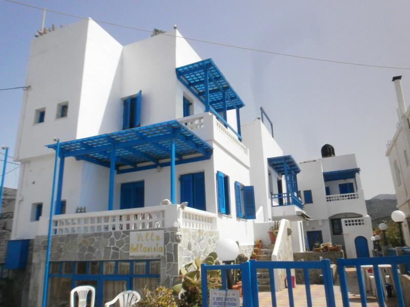 All 8 apartments are in this our building and all are separate, with sea view and roof is for all...