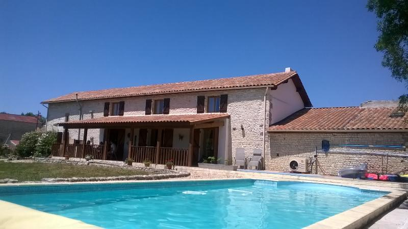 Les Hirondelles Fine stone-built house. Total privacy.Great views. WiFi now available in 2016.