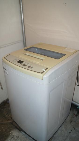 The washer and dryer. This is located on separate and dedicated laundry area from the unit