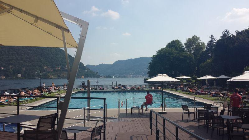 Lido di Cernobbio beach - restaurant - lounge