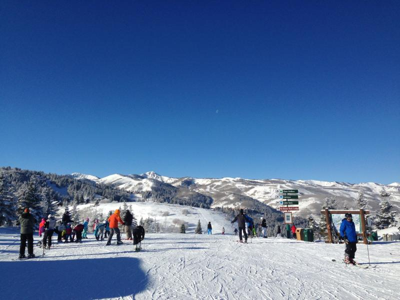 Easy access to all of Deer Valley from top of Jordanelle Gondola