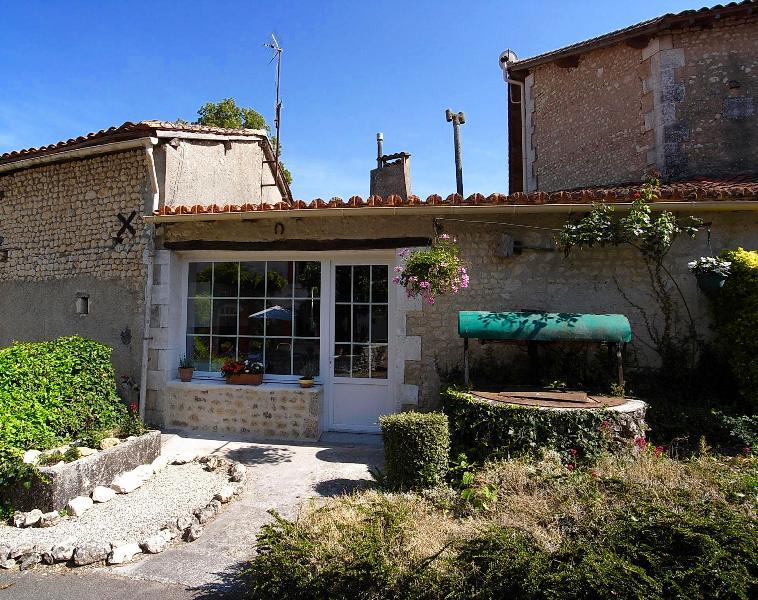 Front Entrance to 'La Petite Maison'