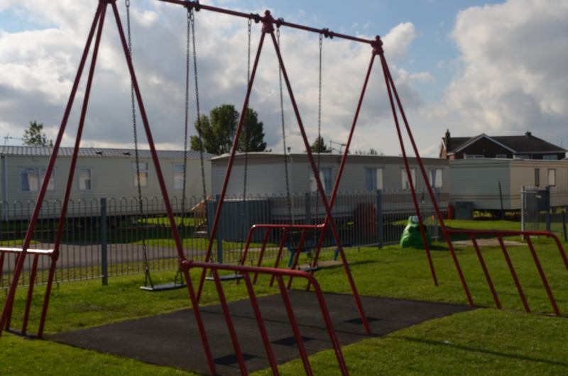 Kinderpark op het terrein
