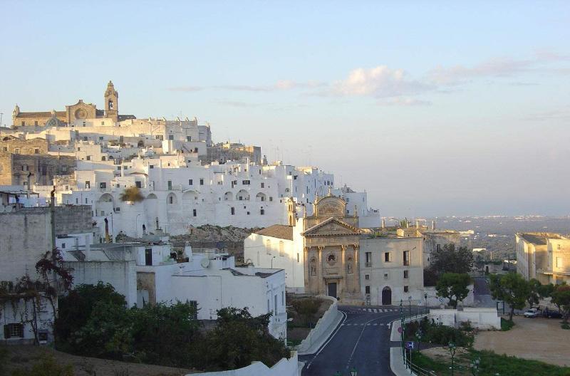 The white city of Ostuni