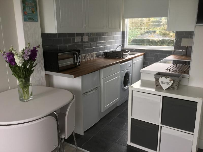 Brand new fully equipped kitchen