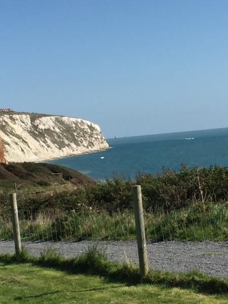 View from the site adjoining the coastal path