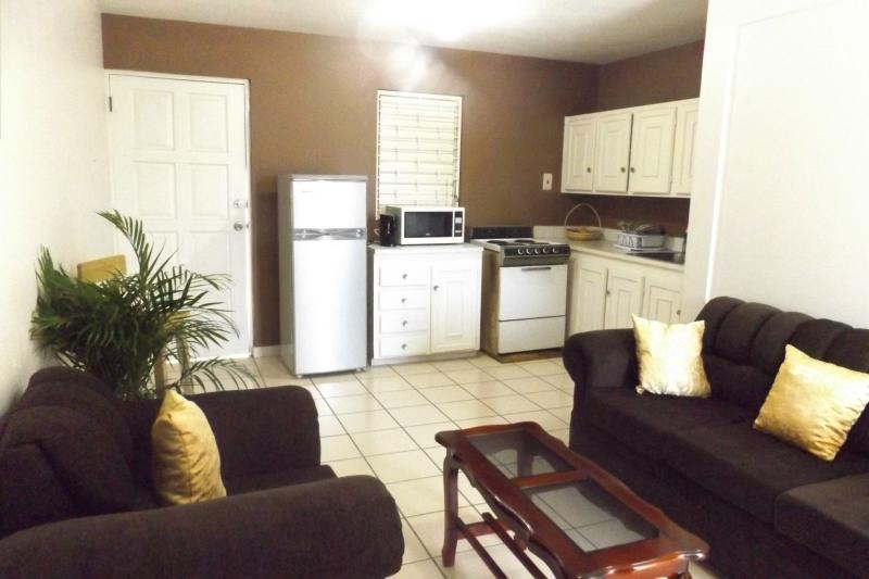 very spacious living area, fit to entertain, relax or have a meeting.