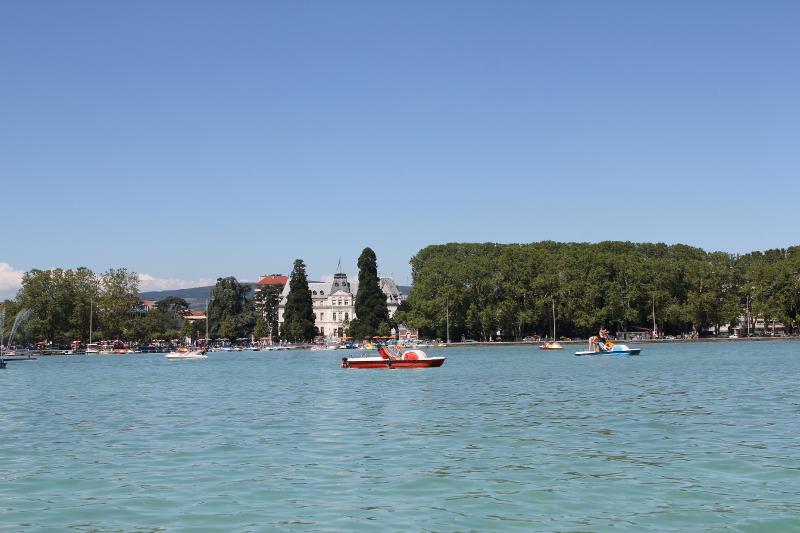 Lago di Annecy - una breve distanza in auto