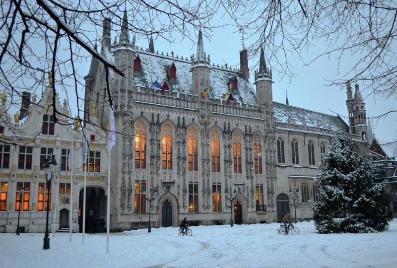 Winter in Bruges