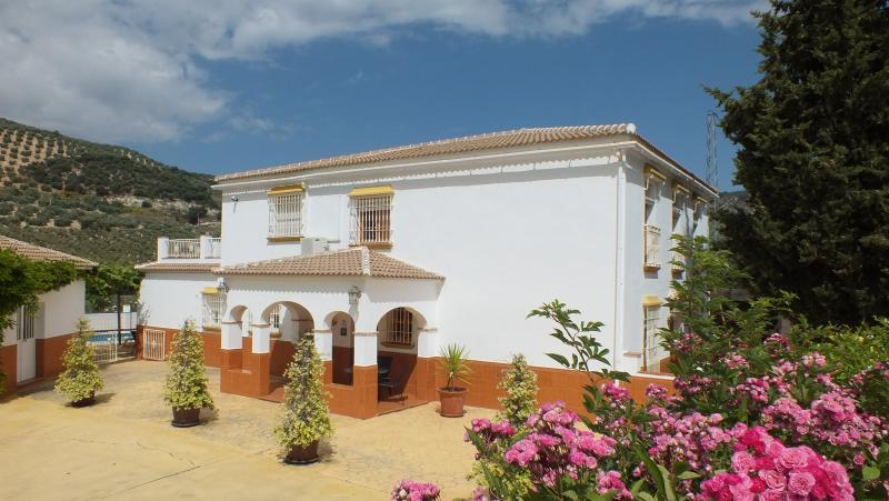 Group Holiday Villa In Andalucia Spain...Heated Gated Pool/Hot Tub/Accessible, holiday rental in Riofrio