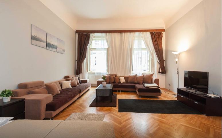 Living Area + Sleeping Area