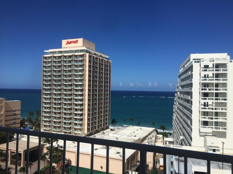 Enjoy magnificent views from your balcony.