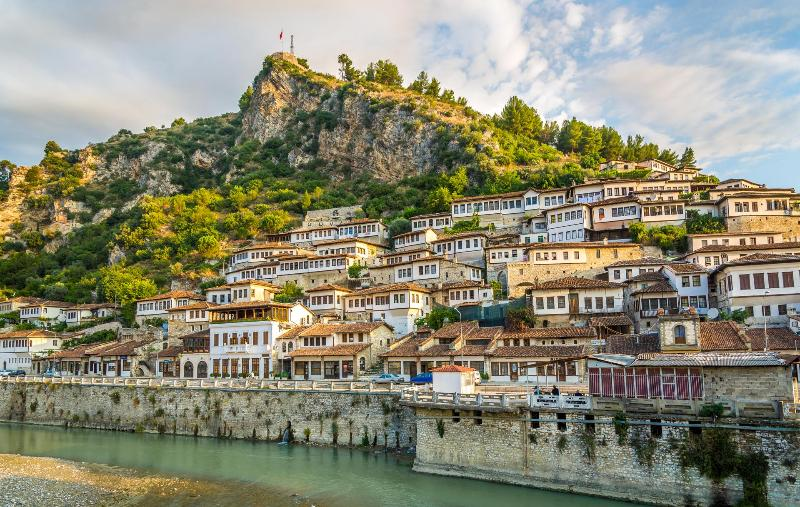 Hostel Mangalem, Berat, Albania. We are central in this UNESCO World Heritage Site!