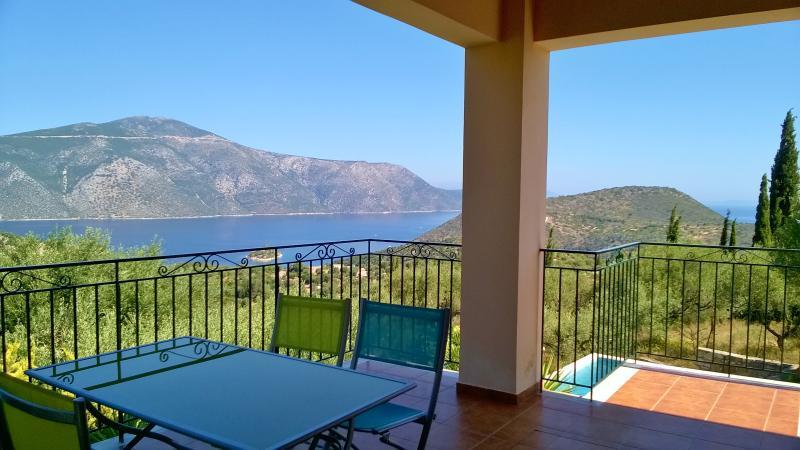 view from the veranda (Arethusa)