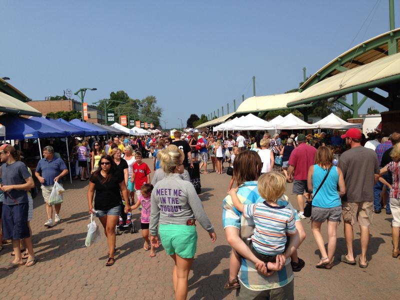 Holland Famers' Market - a favorite Saturday activity