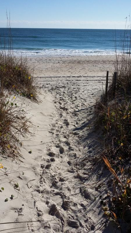White sand at your front door!