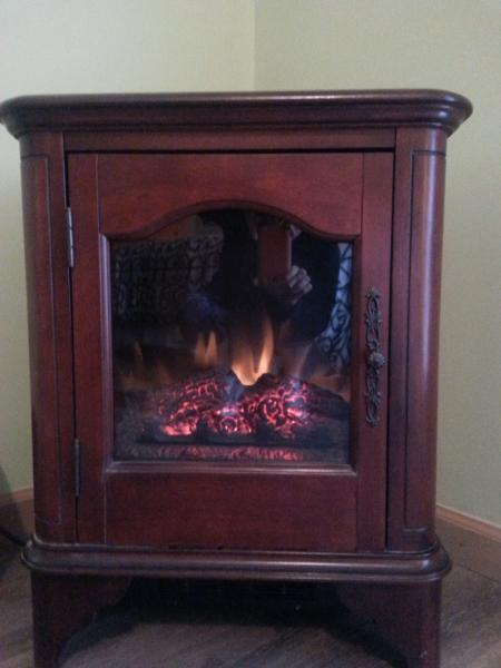 Fireplace bedroom heater