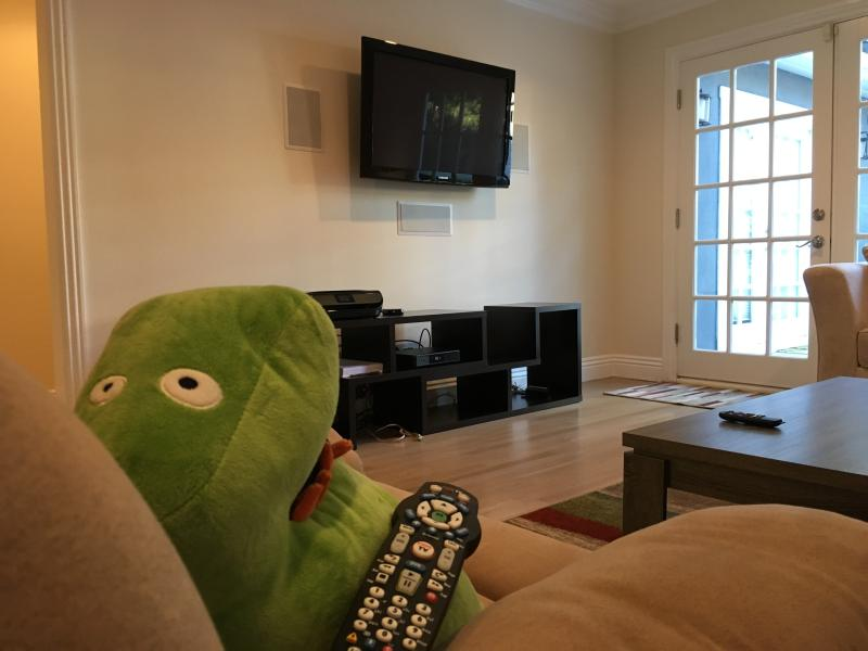 Don't let Marvin the monster hog the remote control!