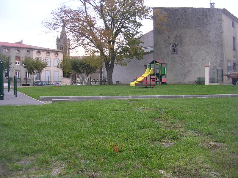 children's play area in our village