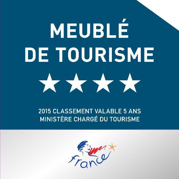Maison classée 4 étoiles par le Ministère chargé du tourisme