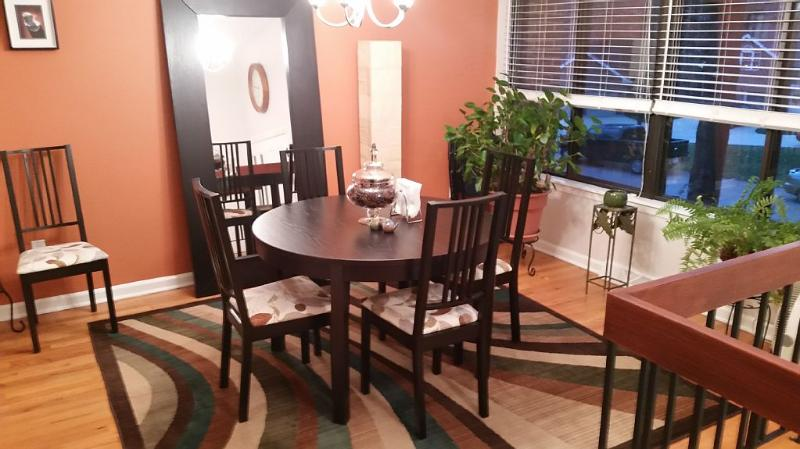 Dining Room (Table Expandable to Seat 6)