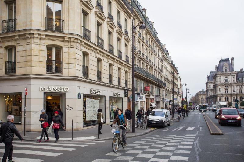 A short walk from Paris's main attractions