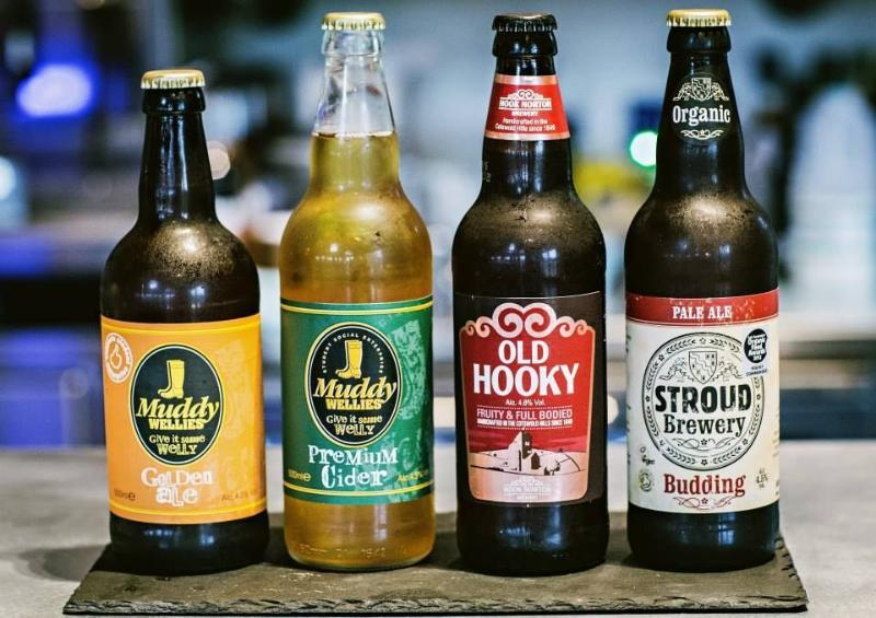 Hand crafted locally brewed craft beers and ciders, now being served at the new Balihoos Clubhouse