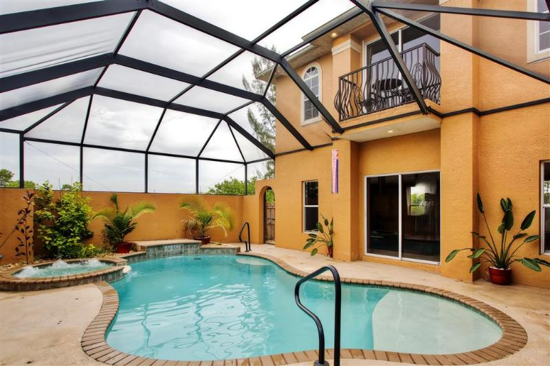 Let this exceptional Cape Coral vacation rental house serve as your own personal oasis during your time in sunny Florida!