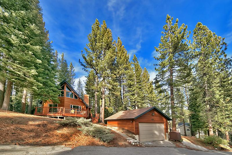 Experience the best of the Sierra Nevadas at this pristine South Lake Tahoe vacation rental home.
